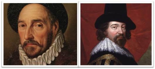 Montaigne y Bacon, maestros del ensayo.