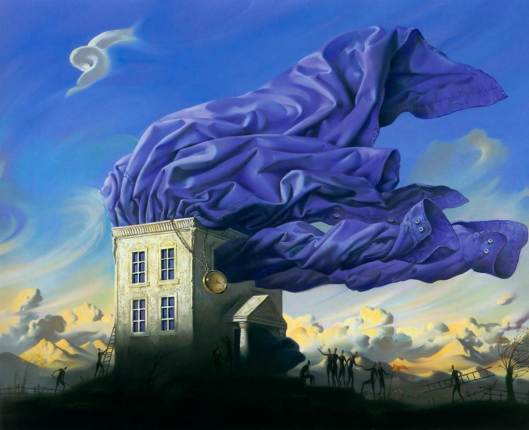Pintura del ruso Vladimir Kush