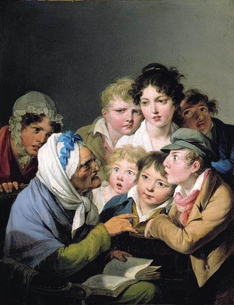 """""""Y el ogro se lo comió"""" de Louis-Léopold Boilly"""