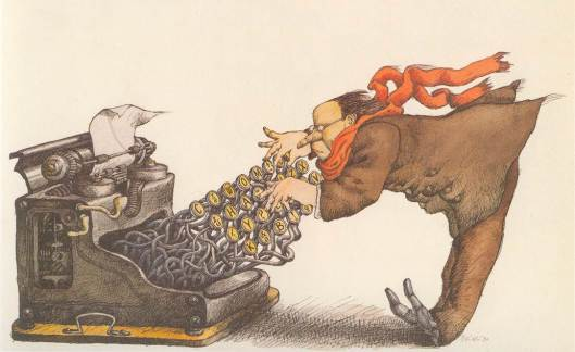 Ilustración de Tullio Pericoli