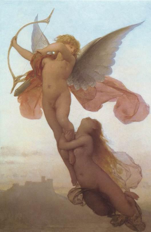 """""""El amor y Psyche"""" de Eugène Médard"""
