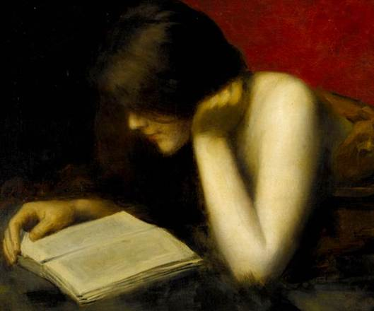 """La lectora"" de Marie Augustin Zwiller"