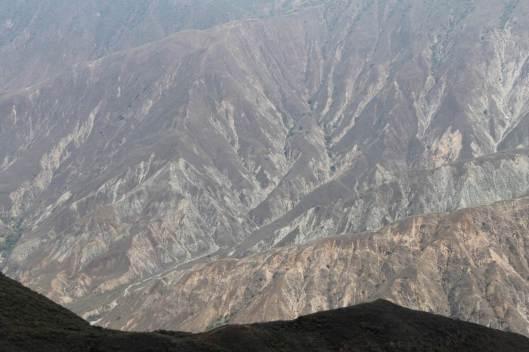 El cañón del Chicamocha, en Santander.