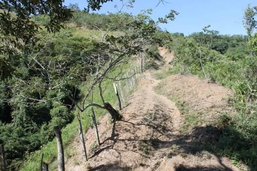 Camino real Capira-Lomalarga, en Cundinamarca.