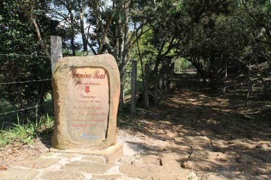 Camino real Barichara-Guane, reconstruido por Geo von Lengerke, 1864.