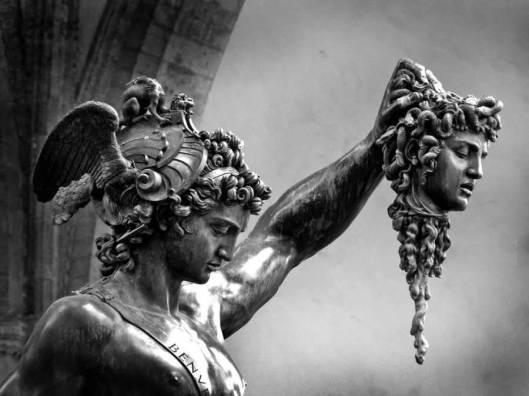 """""""Perseo"""" de Benvenuto Cellini"""