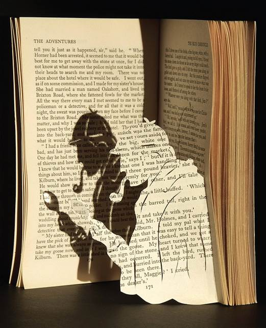 Sherlock Holmes por Rochelle Donald