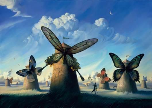 Ilustración de Vladimir Kush.