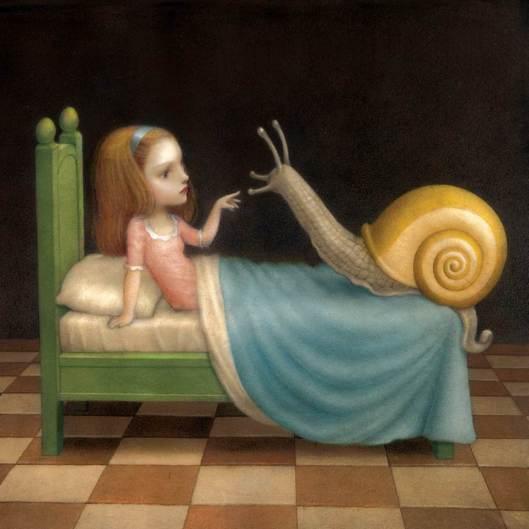 Ilustración de Nicoletta Ceccoli.