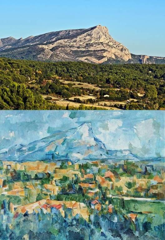 Paul Cézanne: Mont Sainte-Victoire.
