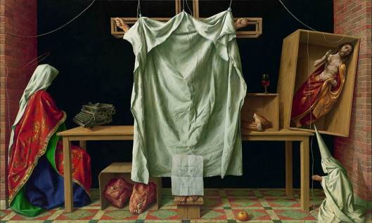 """""""Deus absconditus"""" del pintor alemán Michael Triegel."""