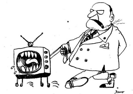 """Ilustración del carioca Edgar Moura (""""Demo"""")."""