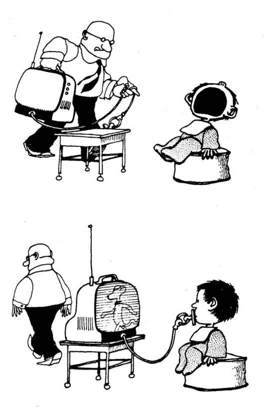 Ilustración de Quino.