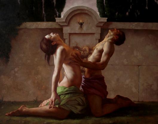 Pintura de Roberto Ferri.