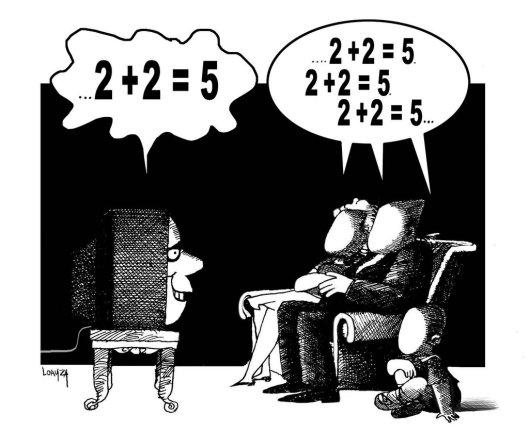 """""""Sin identidad"""", ilustración del peruano Manuel Loayza."""