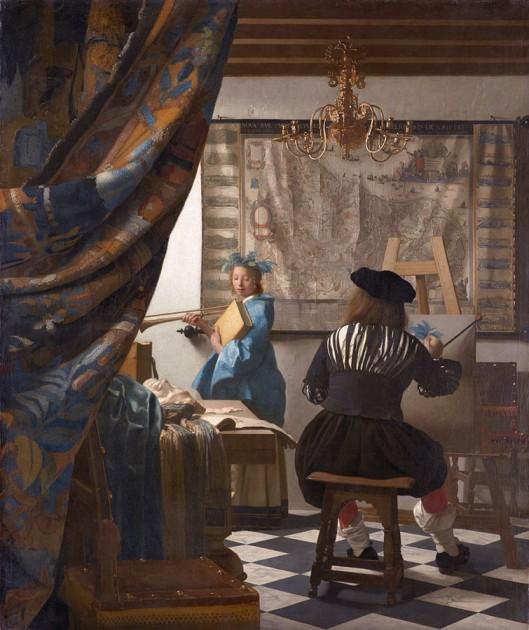 El arte de la pintura Vermeer