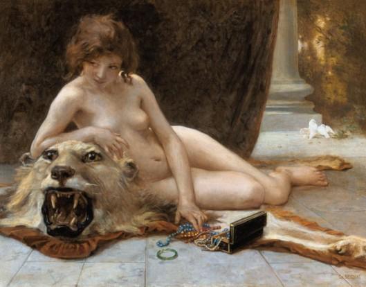 """""""El joyero"""" del pintor francés Guillaume Seignac."""
