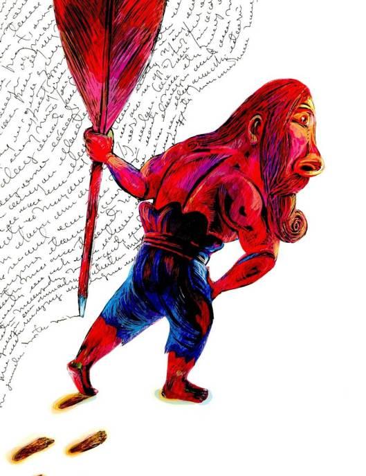 Ilustración del cubano Ajubel
