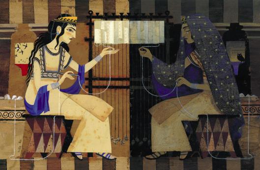 Ilustración de Pep Montserrat para la Odisea