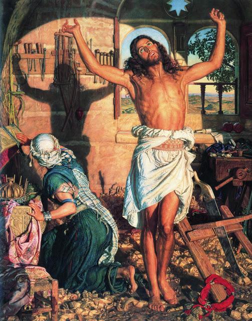 La Sombra de la Muerte, William Holman Hunt (1827-1910)