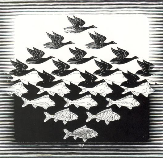 Grabado de Escher