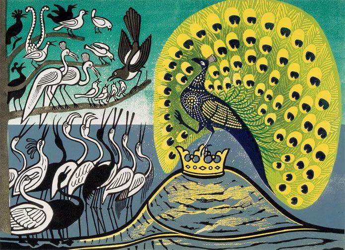 Ilustración de Edward Bawden.