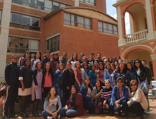 El grupo de IV semestre Maestría en Docencia 2018