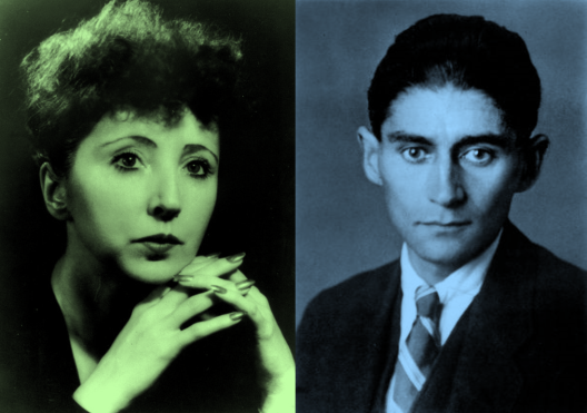 Anais Nin y Franz Kafka