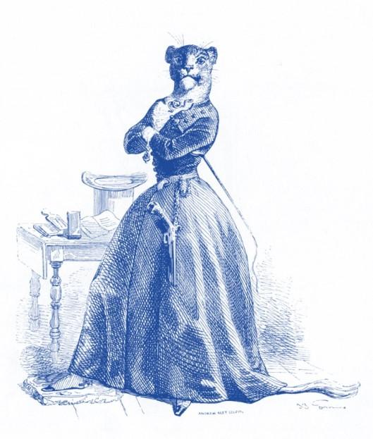 Ilustración de Grandville